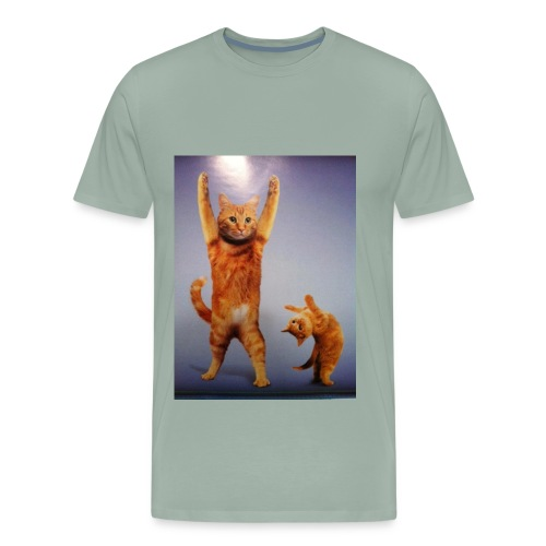 can do all things cat - Men's Premium T-Shirt