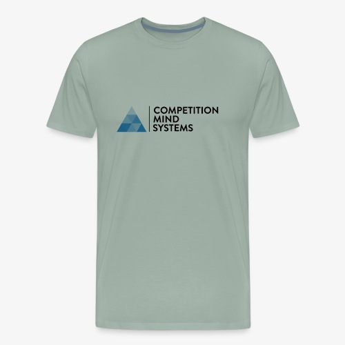 CMS Blue logo - Men's Premium T-Shirt