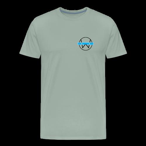 Lil White Logo - Men's Premium T-Shirt