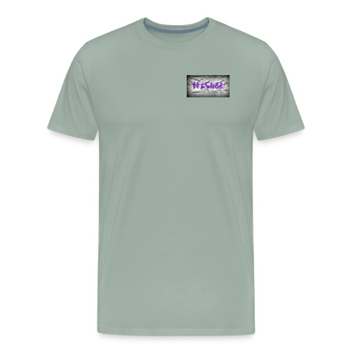 to much slidd - Men's Premium T-Shirt
