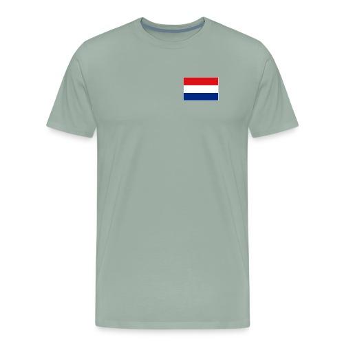 Dutch Flag - Men's Premium T-Shirt