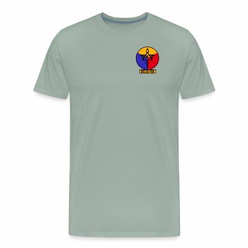 Delta Fox Patch Crest - Men's Premium T-Shirt