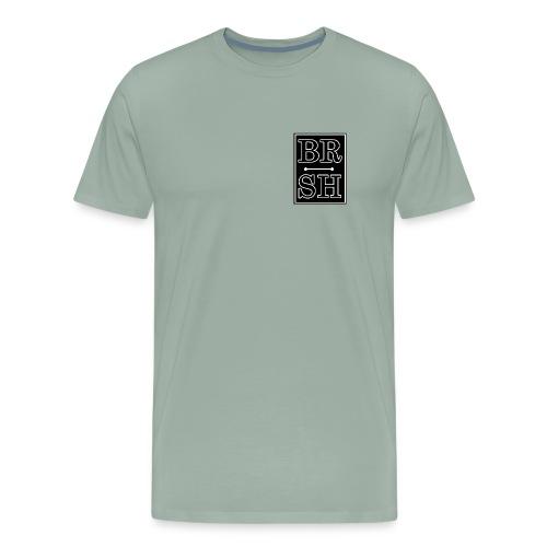 Initial BRSH Marquee Logo - Men's Premium T-Shirt