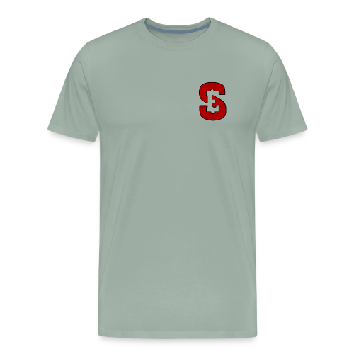 Self Enrichment Logo Red - Men's Premium T-Shirt