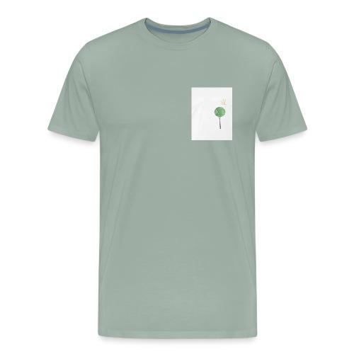 Tree with Crown - Men's Premium T-Shirt