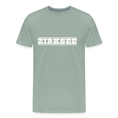 Big Bold white - Men's Premium T-Shirt