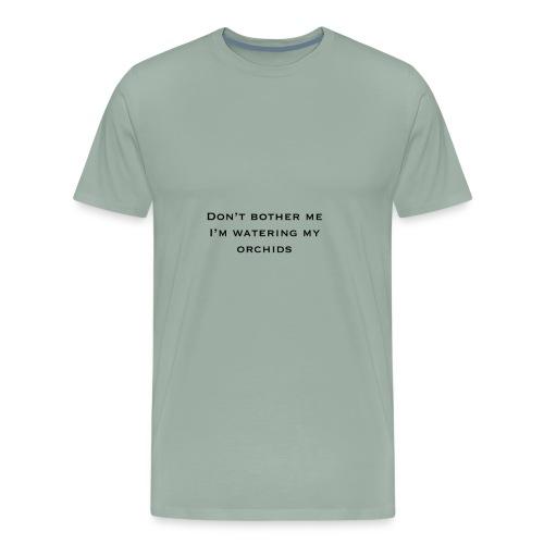Orchid Meme - Men's Premium T-Shirt