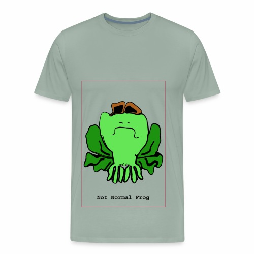 not normal frog - Men's Premium T-Shirt