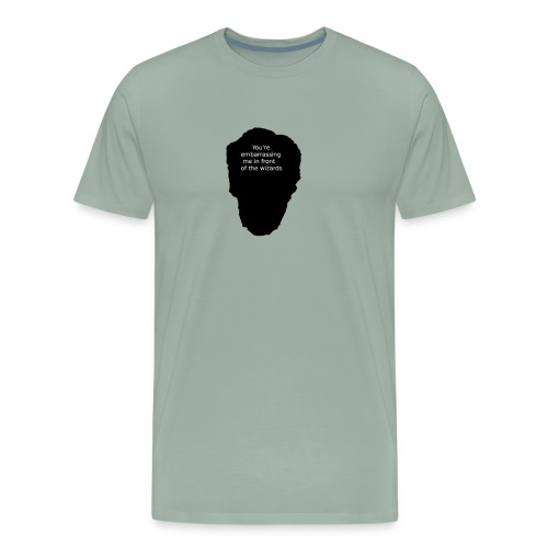 Doctor Stange Black text - Men's Premium T-Shirt