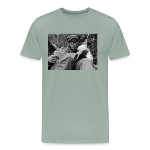 Viva Fidel ~ Book - Men's Premium T-Shirt