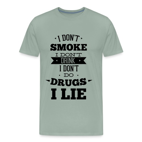 I lie - Men's Premium T-Shirt