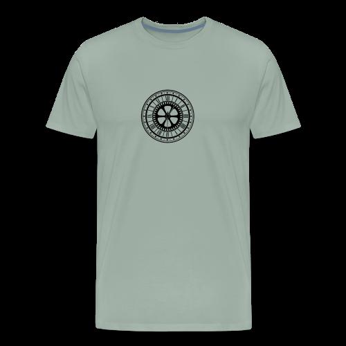 Nikstalgic - Black Clock - Men's Premium T-Shirt
