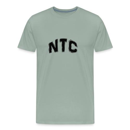 NTC Cracked Logo - Men's Premium T-Shirt