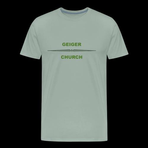 Geiger Military Shirt - Men's Premium T-Shirt