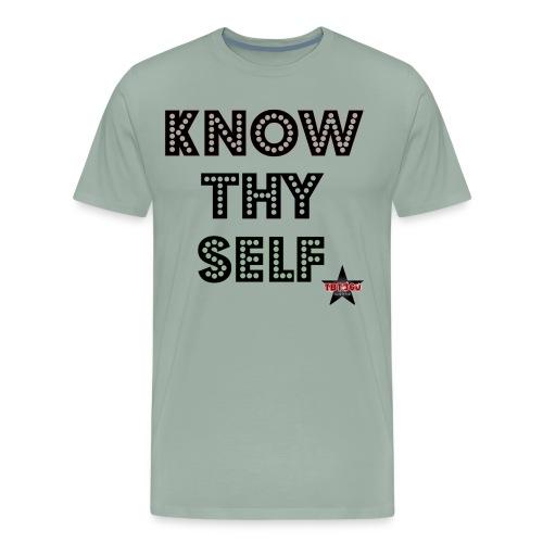KNOW THY SELF - Men's Premium T-Shirt