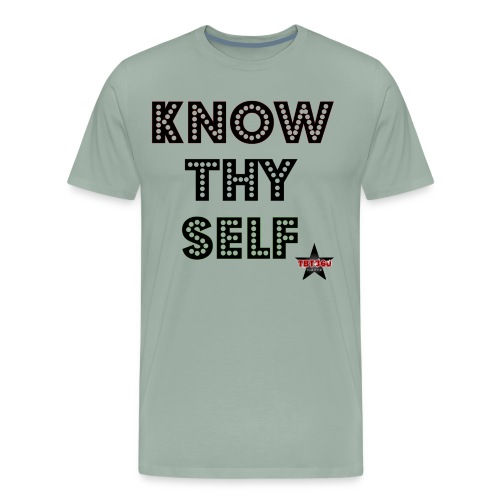 KNOW THY SELF - Men's Premium T-Shirt