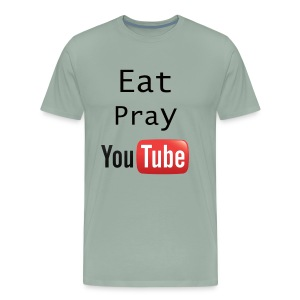 Eat Pray YouTube Shirt - Men's Premium T-Shirt