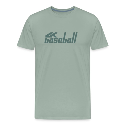 4kBaseball Logo - Men's Premium T-Shirt