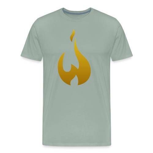 W Logo Gold - Men's Premium T-Shirt