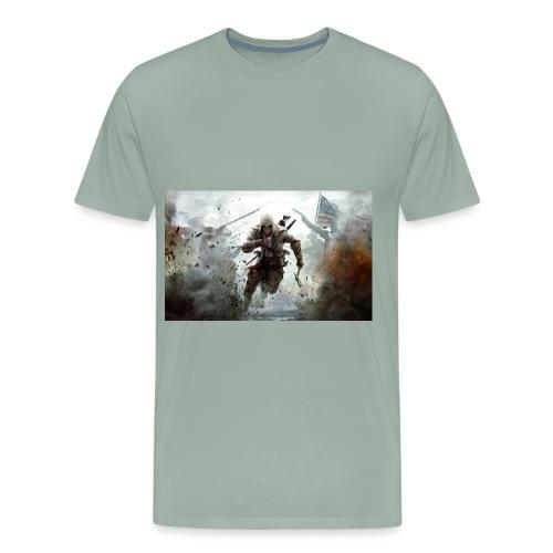 assassins creed 3 - Men's Premium T-Shirt