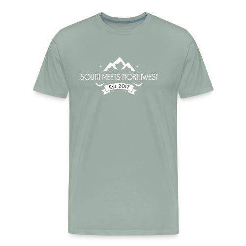South Meets Northwest Logo - Men's Premium T-Shirt