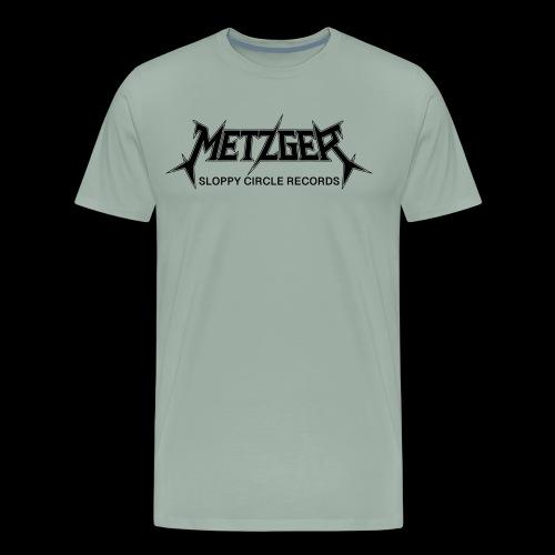 Metzger Sloppy Circle Records - Men's Premium T-Shirt