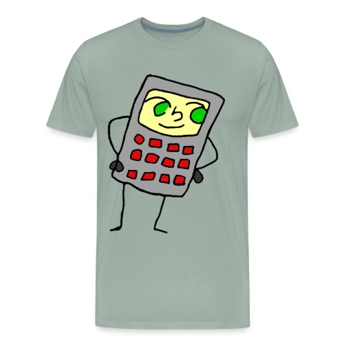 Calculator Chan - Men's Premium T-Shirt