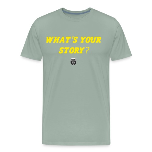 What's Your Story? - Men's Premium T-Shirt