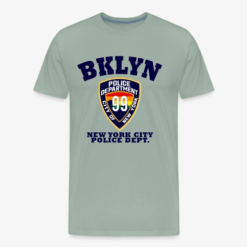 Vintage Brooklyn 99 - Men's Premium T-Shirt