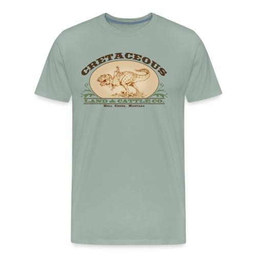 Cretaceous Land and Cattle Co, - Men's Premium T-Shirt