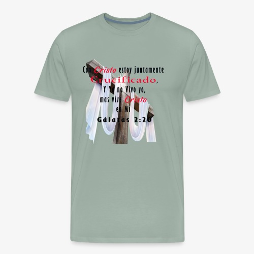 Galatas 2 20 - Men's Premium T-Shirt