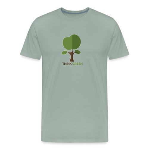 Think Green (naturecontest) - Men's Premium T-Shirt