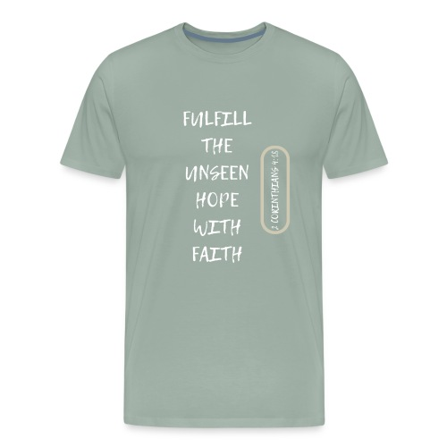 HOPE WITH FAITH - Men's Premium T-Shirt