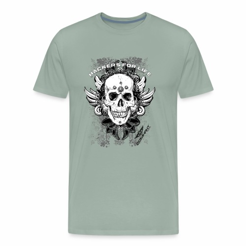 Dominant Gear Hackers for life - Men's Premium T-Shirt