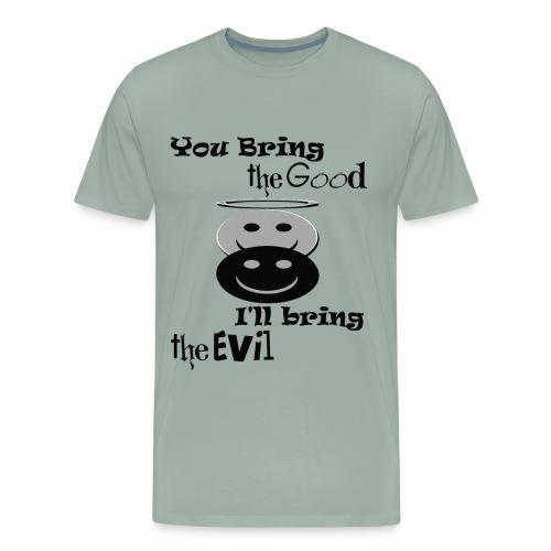 Good & Evil ~ Limited Time Only - Men's Premium T-Shirt
