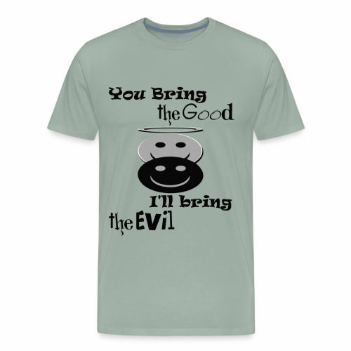 Good & Evil ~ Limited Time Only - Men's Premium T-Shirt