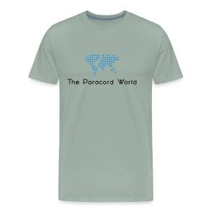The Paracord World's Logo - Men's Premium T-Shirt