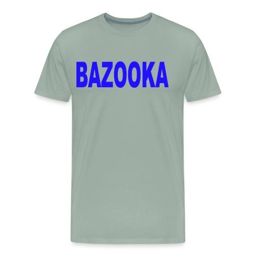 BAZOOKA blauwe - Men's Premium T-Shirt