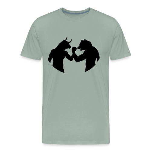Bulls and bears - Men's Premium T-Shirt