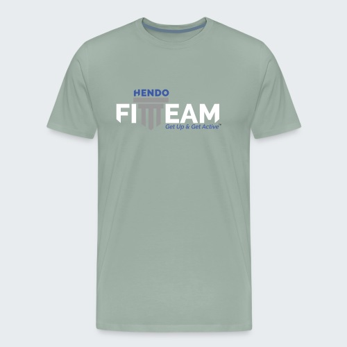 Signature HFT Stamp/White - Men's Premium T-Shirt