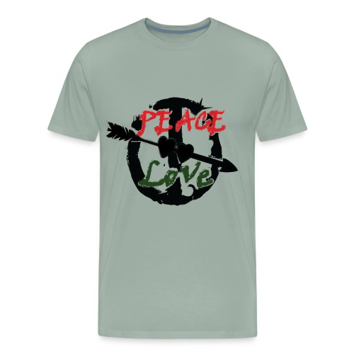 Peace and love t-shirt - Men's Premium T-Shirt