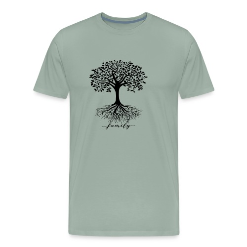 Family rooted tree - Men's Premium T-Shirt