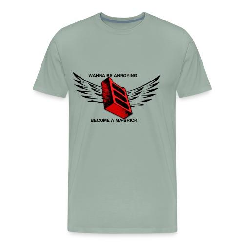 ma-brick parody merch - Men's Premium T-Shirt