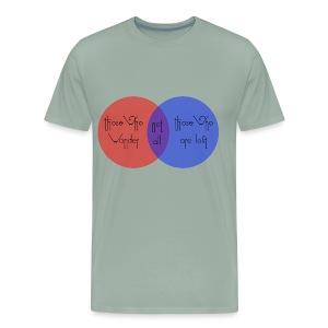wander venn - Men's Premium T-Shirt
