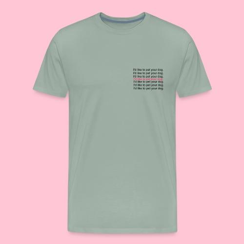 dog design - Men's Premium T-Shirt