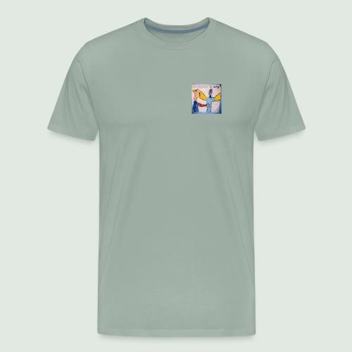strangenesscover - Men's Premium T-Shirt