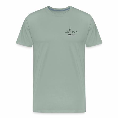 CHICAGO SKYLINE - Men's Premium T-Shirt