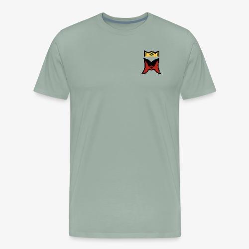 Logo 8bit - Men's Premium T-Shirt