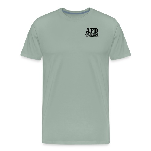 AFD GAMING Stencil Blk - Men's Premium T-Shirt