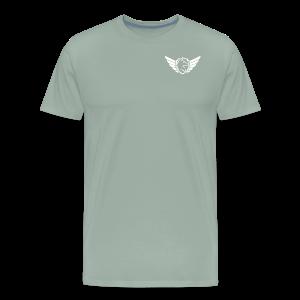 White Pocket Logo - Men's Premium T-Shirt